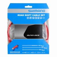 Shimano Shifterkabelset Dura Ace 9000 Polymer Rood