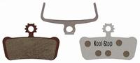 Koolstop Remblok Set KS-D293A Avid Alu Plaat Organic X0