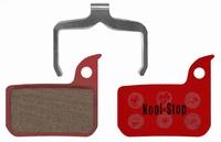 Koolstop Remblok Set D-297 SRAM Organic Red/Force 22