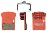 Koolstop Remblok Set D-297K SRAM Aero Organic Red/Force 22