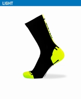 Biotex Fluo Race Sock Black-Yellow