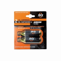 SKS CO2 Patronenset Airgun 2 Stuks