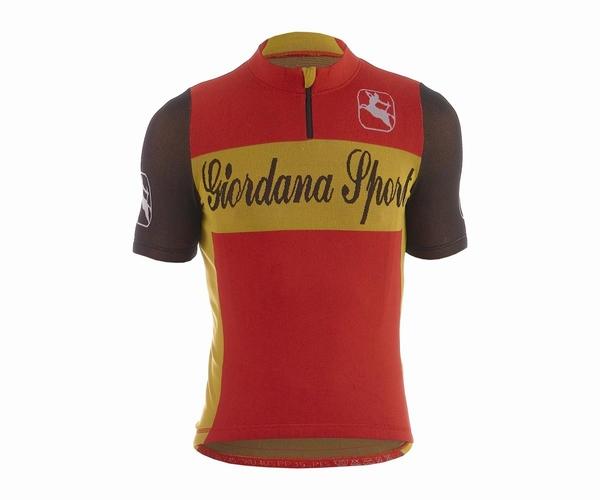 Giordana Sport Performance Wool Red-Yellow