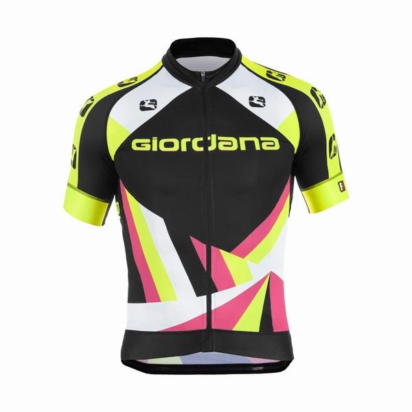 Giordana Trade FR-C Heritage Black-Yellow-Pink-Green-Fluo