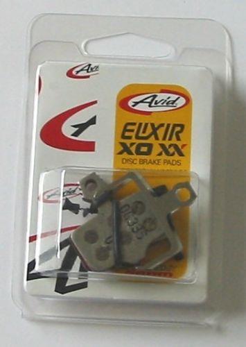 Avid Remblok Set Organic Alu Plaat Elixir/XX/X0/DB1/DB3/DB5