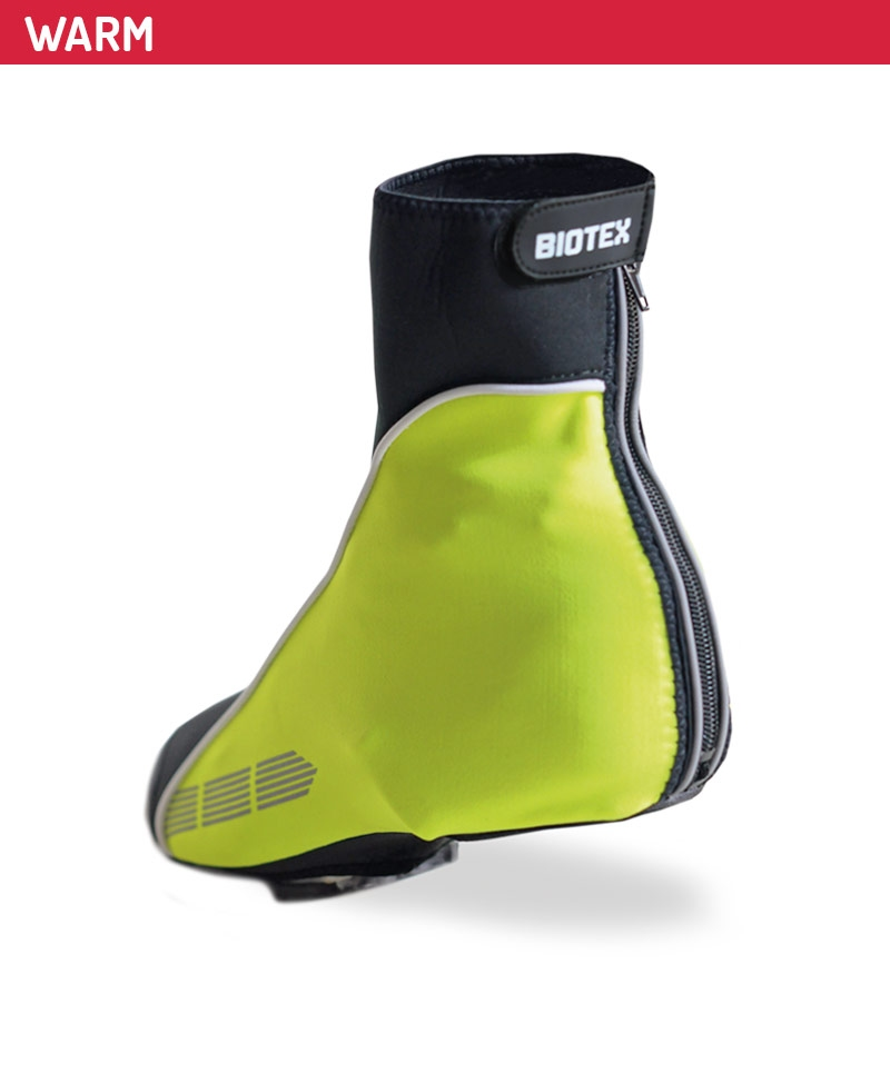 Biotex ThermalWind Covershoes Black-Yellow