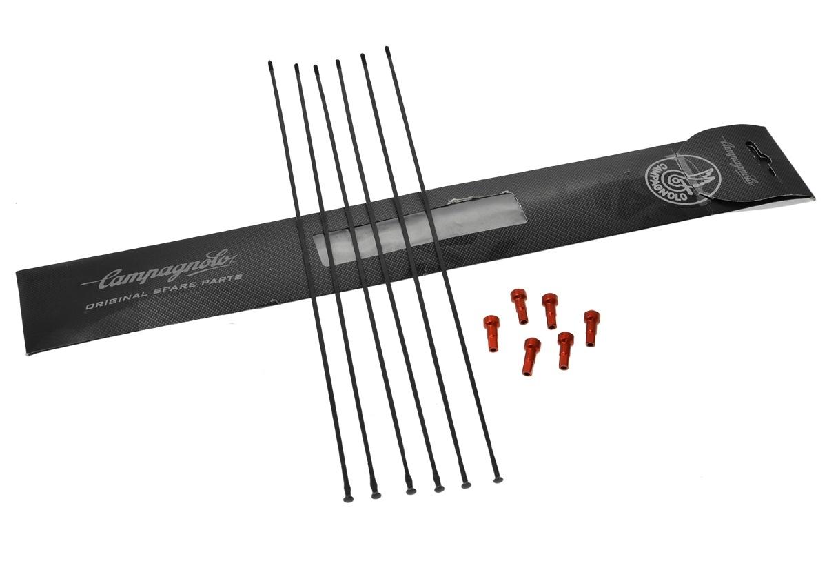Campagnolo Mini Spaakkit Bullet Ultra 80 Achter + Voor