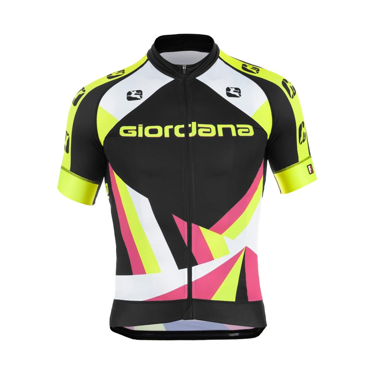 Giordana Trade FR-C Heritage Black-Yellow-Pink-Green-Fluo