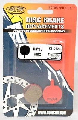 Koolstop Remblok Set KS-D220 Hayes Organic MX2