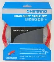 Shimano Shifterkabelset Ultegra 6800 Polymer Rood