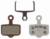 Koolstop Remblok Set KS-296A Avid Alu Plaat Organic Elixer 1