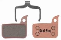 Koolstop Remblok Set D-297S SRAM Metal Red/Force 22