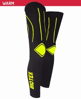 Biotex Elasticized Leg Warmer Black-Yellow