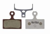 Koolstop Remblok Set D-635A Shimano Organisch Alu Plaat