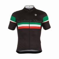 Giordana Sport Elite Black-with Italia Stripe
