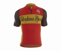 Giordana Sport Performance Wool Red-Yellow