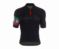 Giordana Sport Performance Wool Black-Italia