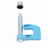 Tacx Frame Fixation Lever Blue